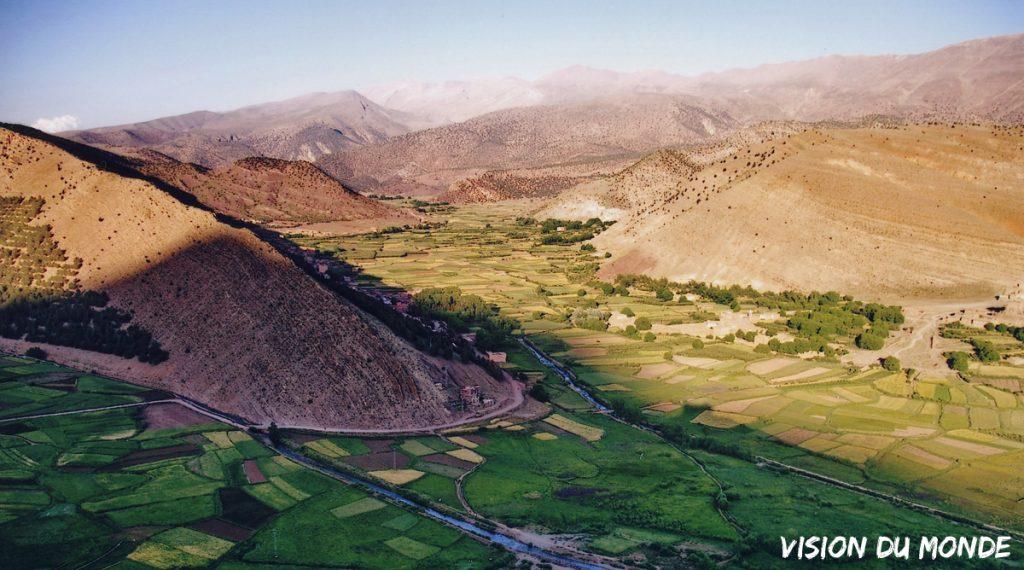 Paysage Atlas au Maroc