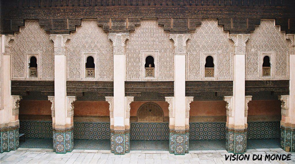 Palais de la Bahia au Maroc