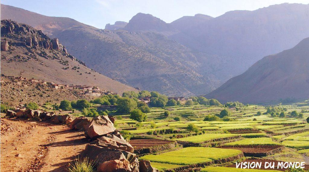 Voyage scolaire dans l'Atlas au Maroc