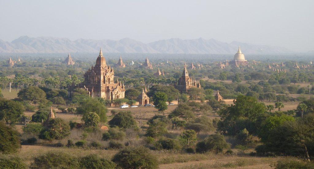 Birmanie, plaine pagodes