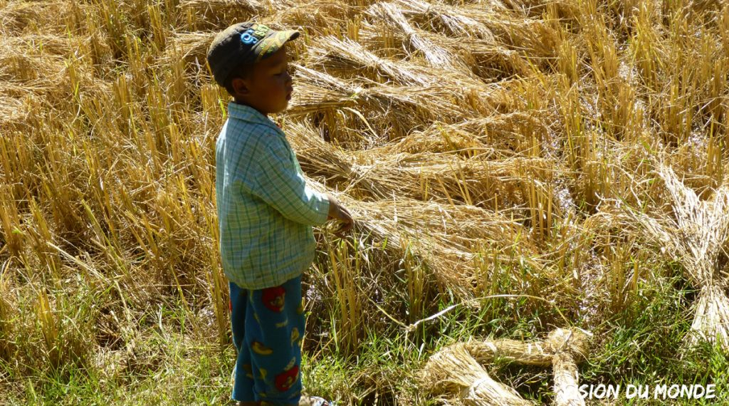 Enfant en Birmanie