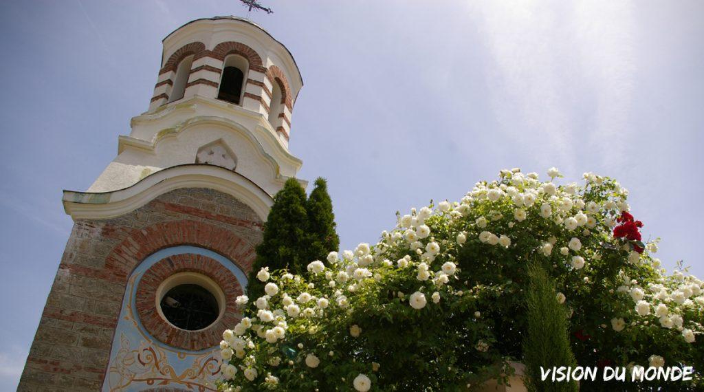 Roses en Bulgarie