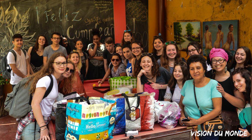 Association et voyage scolaire au Pérou