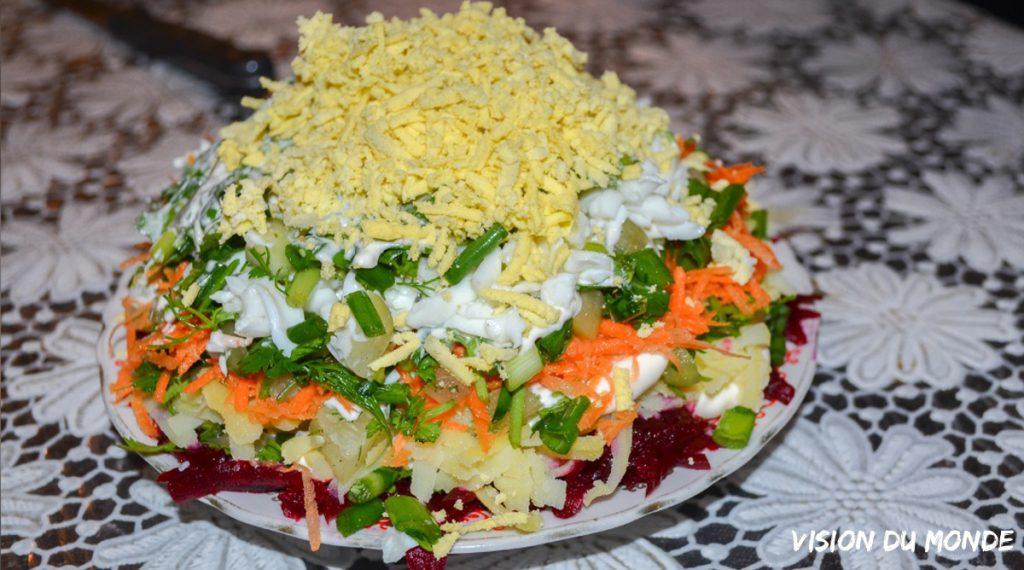Salade spécialité Arménie