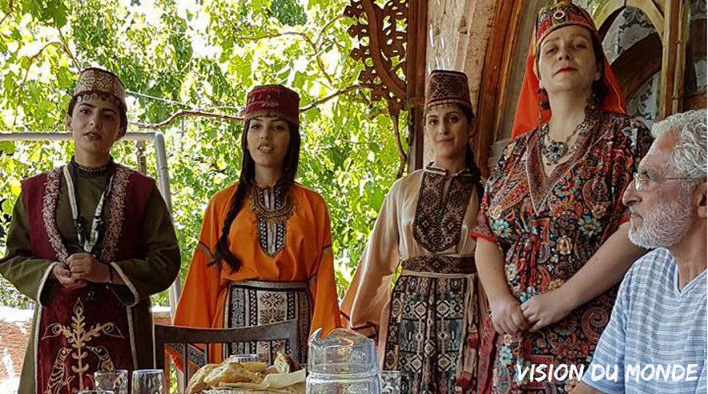 Arménie traditions fête de l'eau
