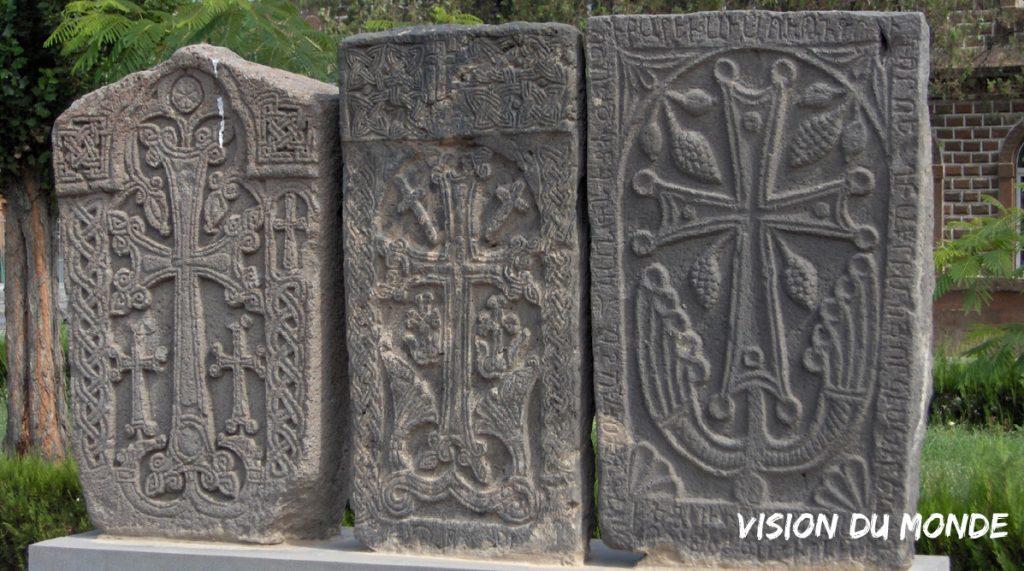 Stèles chrétiennes Arménie