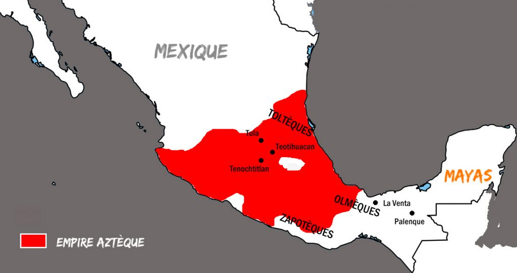 Empire Aztèque Mexique