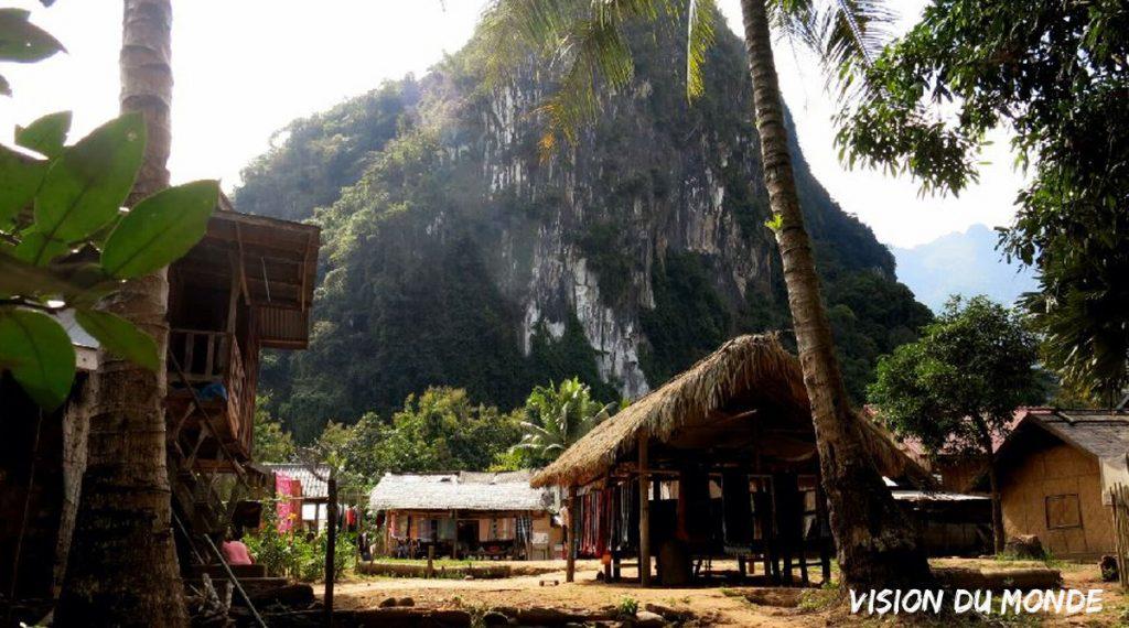 Village K'mou Laos