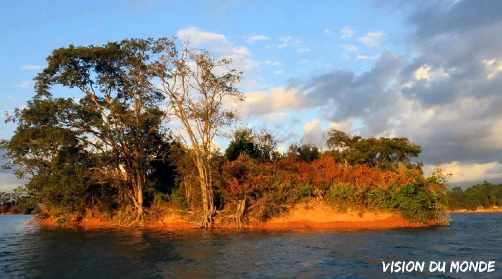 La région des 4000 îles Laos