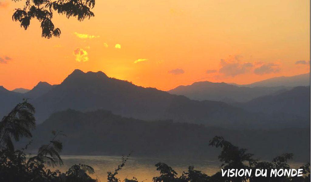 Laos Coucher de soleil