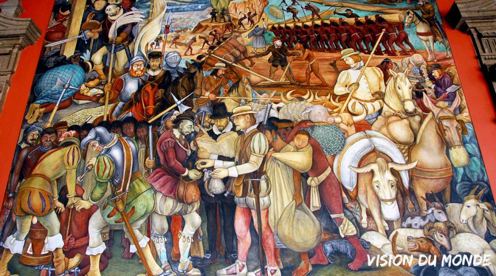 Conquistadors Mexique