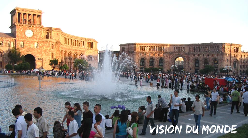 Monument de la capitale arménienne, Erevan