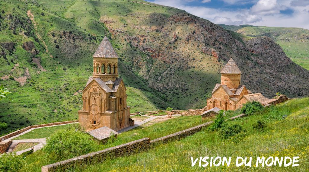 Monastère arménien, situé dans le marz de Syunik
