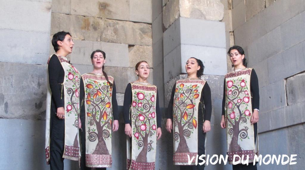 Folklore arménien, groupe de chant