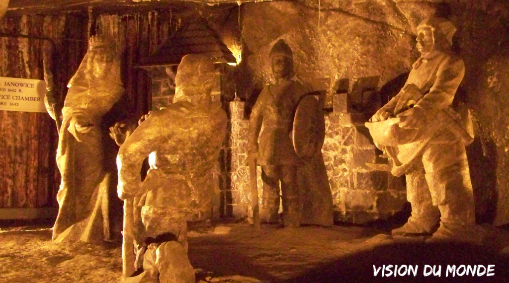 La Mine de Sel « Wieliczka », site classé par l'UNESCO