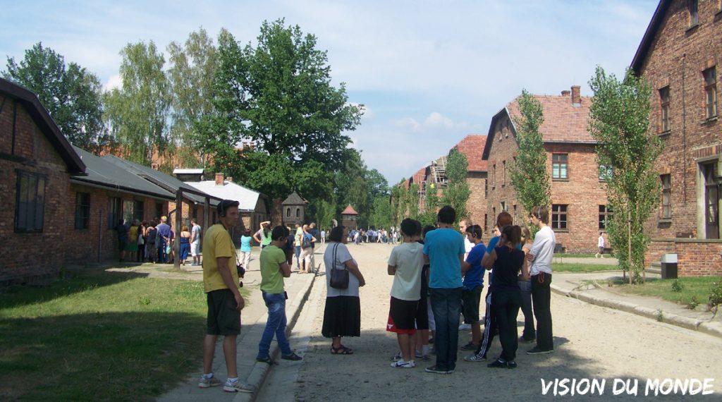 Visite du musée national d'Auschwitz-Birkenau
