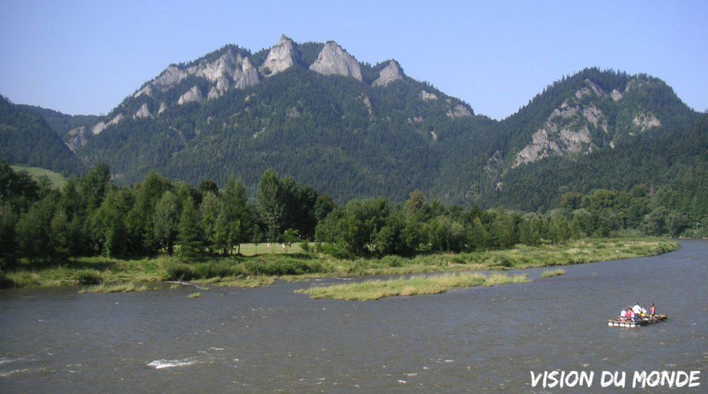 Les Piénines, chaîne de Montagnes à cheval entre la frontière Polonaise et Slovaque