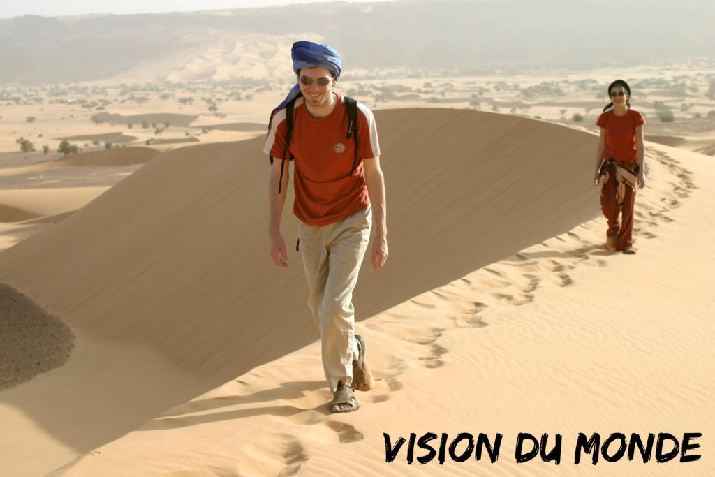 Dunes dans l'Adrar, Mauritanie