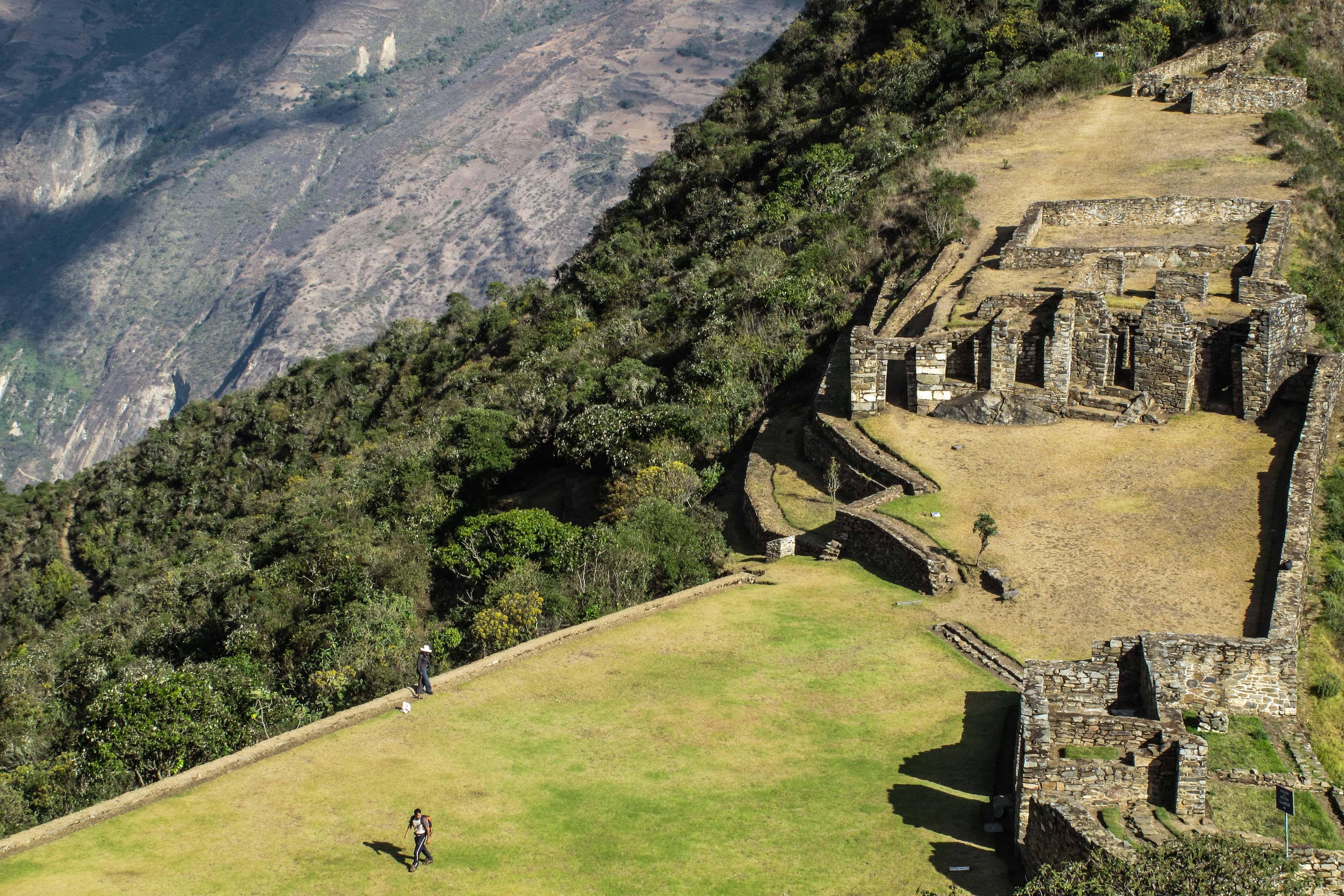 Choquequirao, une architecture inca développée