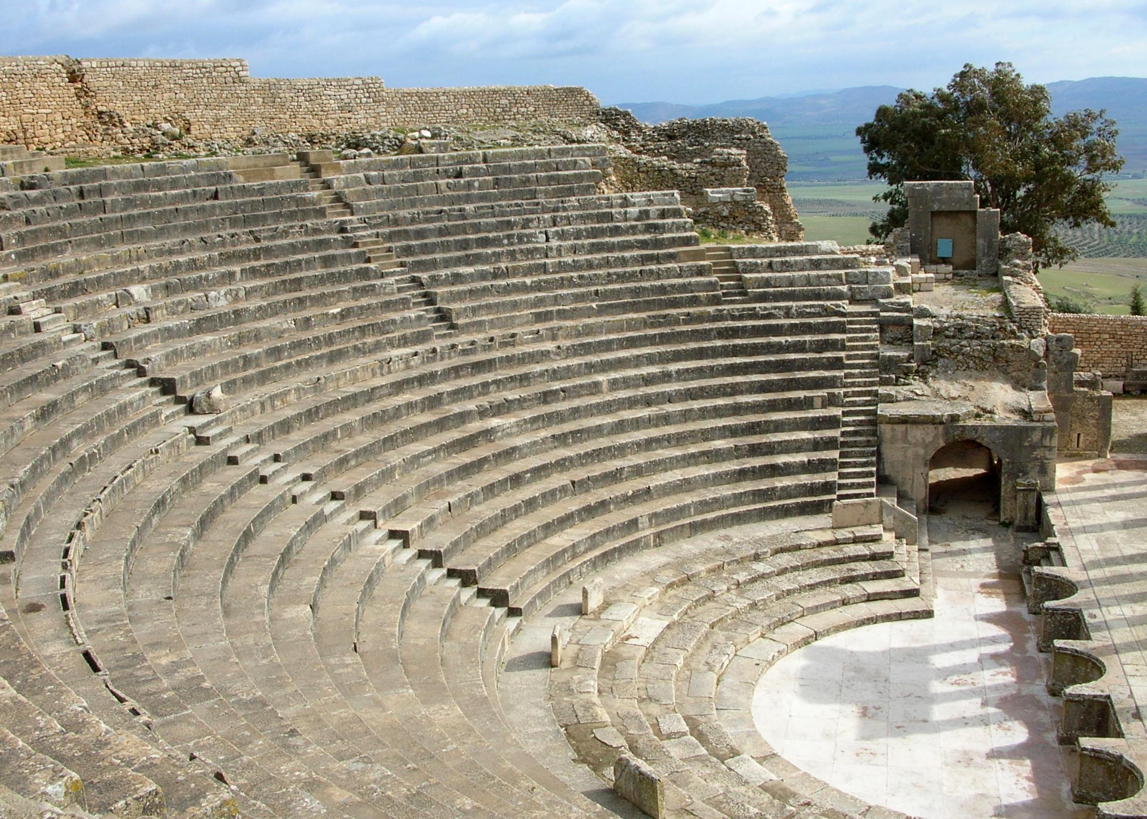 Théâtre de Dougga