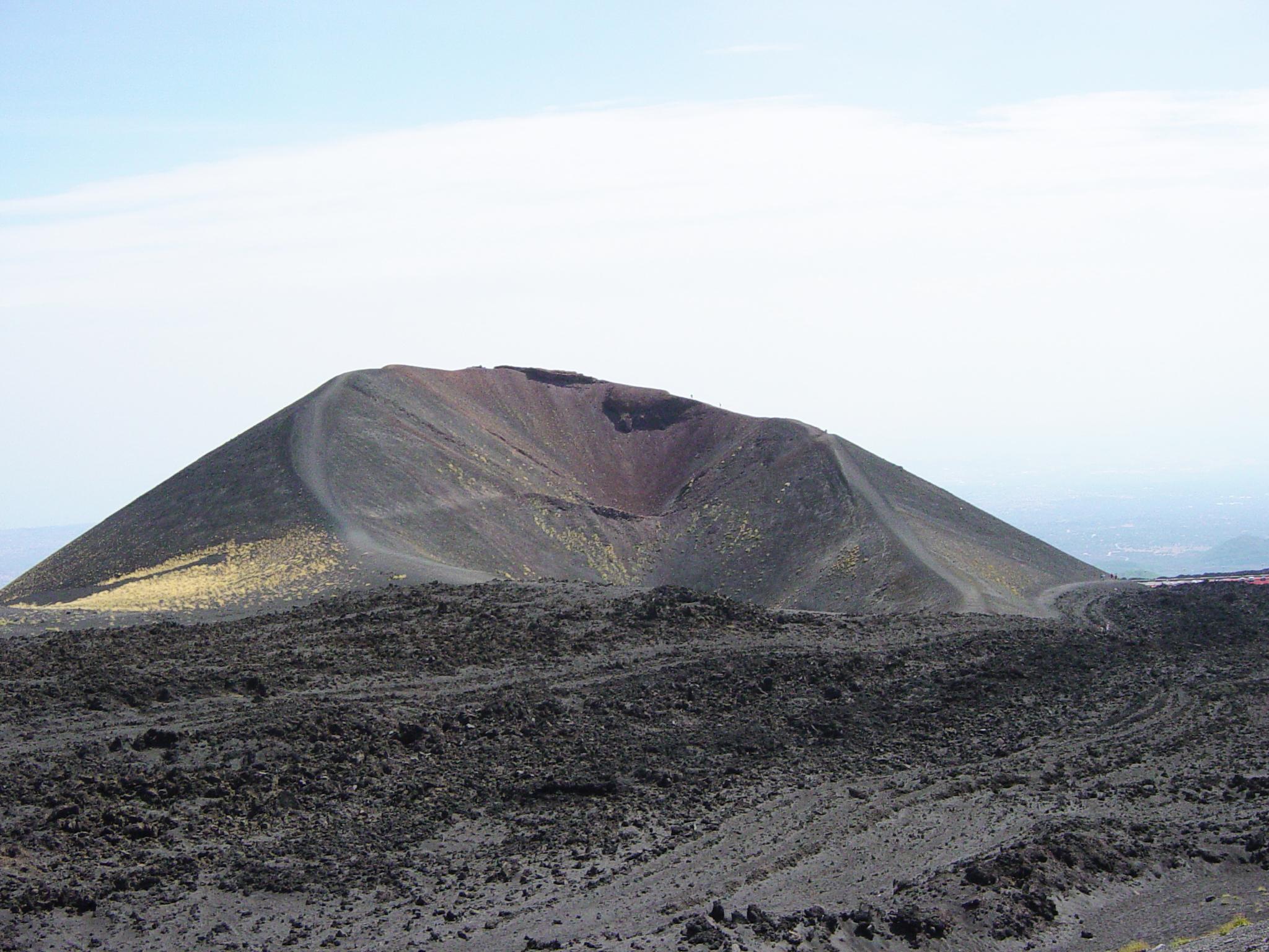 Les flancs de l'Etna