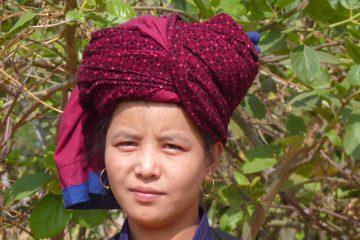 Femme en Birmanie