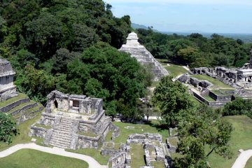 Palenque Maya Mexique